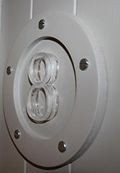 Circular Door Number
