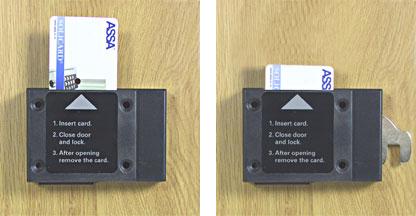 Card Coin Locks