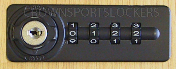L & F Combination Lock with Master Override