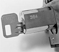 Key-in-lock